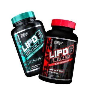 PACK lipo 6 black + lipo 6 hers